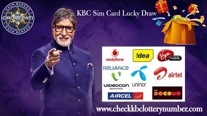 KBC Sim Card Lucky Draw 2022