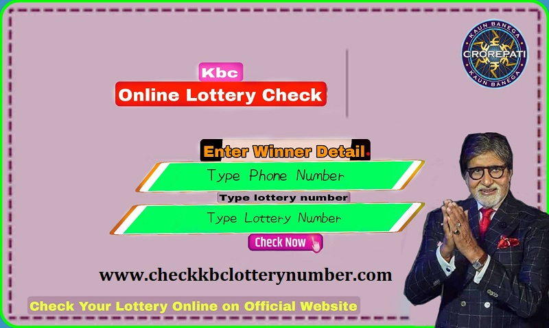 Check KBC Lottery Number Online