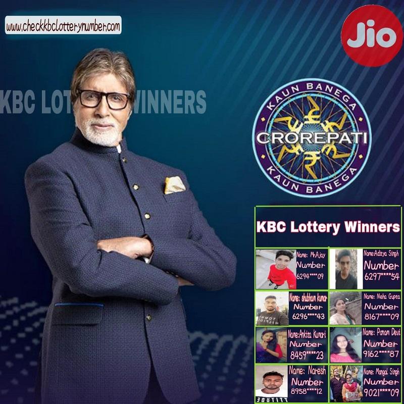 KBC Lottery Winners 2021 List